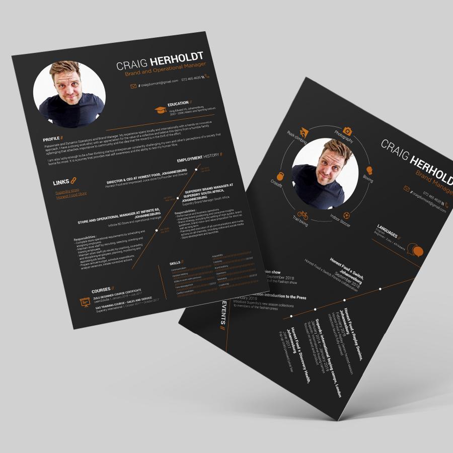 gazzaroo website design branding socialmediamanagement cv resume design - Branding & Graphic Design