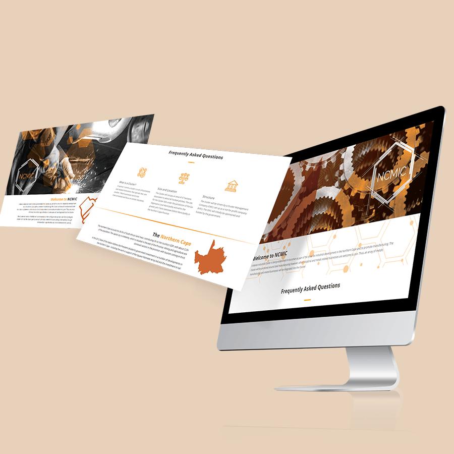 gazzaroo website design branding socialmediamanagement trade ncmic website - Professional Website Design and Development